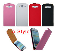 Dropship leather case cover for Samsung Galaxy S3 i9300 Two ...