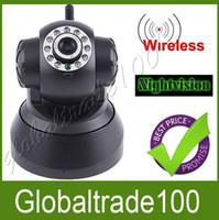 Wholesale Wireless IP Camera Nightvision IR LED Webcam CCTV Pan Tilt WiFi Dual Audio Outdoor DHL