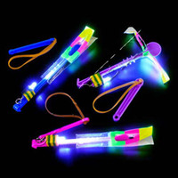 New Arrival Novelty Toy LED Amazing arrow helicopter Flying ...