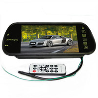 Best 7 Inch Car Rearview Mirror Monitor Support SD USB Bluetooth MP5 Player