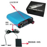 Wholesale Brand New LED Digital Mini Tattoo Power Supply Yilong Tattoo Factory Direct Sale