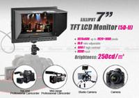 Wholesale LILLIPUT quot TFT Ultra slim Camera Monitors Viewfinder HDMI Input Camera for Canon D Mark II PA006