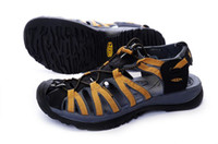 Wholesale Men wade sandals packet header thick foam rubber sole durable Super A cheap
