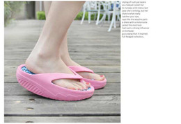 Wholesale Fashion shape up shoes for Women Beach slippers candy Sale summer Casual sandals Mixed color