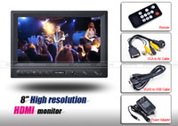 Wholesale 8 quot FW819AH TFT LCD HD HDMI P VGA AV Monitor for Canon D mark II Camera Remote Controller