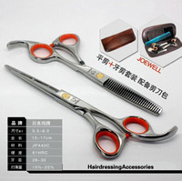 Right Hand barber scissor set - Hair Scissors INCH or INCH Barber Scissors JP440C Cutting Thinning Scissors pair set NEW