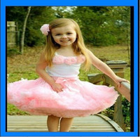 Wholesale girls tutu skirt pettiskirt dress