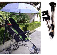 Wholesale Stainless Steel Bicycle Umbrella Stand Umbrella Holder baby strollers stand free shippin