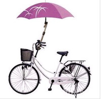 Wholesale High Quality Stainless Steel Retractable Bicycle Umbrella Stand Umbrella Holder by DHL