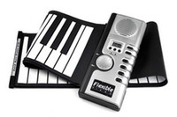 Wholesale Portable Digital Soft flexible keyboard Piano with key hand roll up with MIDI