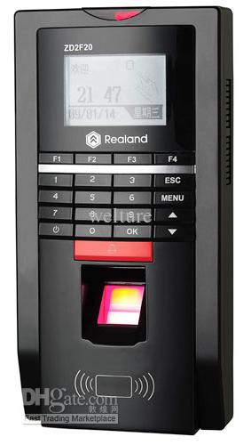 2 In 1 Biometric Fingerprint Access Control Time