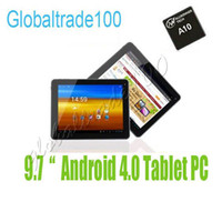Wholesale 9 inch Tablet PC Android A10 GB RAM GB IPS points Capacitive Dual Camera HDMI Free DHL