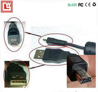 Wholesale USB data cable Panasonic Digital Camera DMC FX33 DMC the FX35 DMC FX36 meters