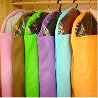 Wholesale Clothes Suit Dress Garment Dustproof Cover Bag Storage Bags Thicken