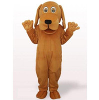 Qualité Brown Dog Mascot Adult Costume Taille Mascot Costume Chirastmas Party Outfit Fantaisie Robe