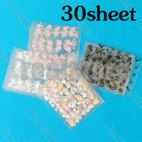 Wholesale styles a set D Design Nail Art Sticker Tip Decal Manicure total colors in choice
