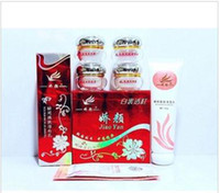 Wholesale JiaoYan Bailitouhong in1 Day Night Pearl Cream Eye Cream Cleanser