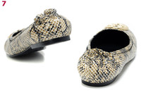 women footwear - Hot Sale Designer Snake Print Pattern Flats Woman Fashion Dress Shoes Girl s Footwear Sizes