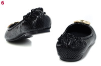 women footwear - Designer Snake Print Pattern Flats Woman Fashion Dress Shoes Black Girl s Footwear Sizes