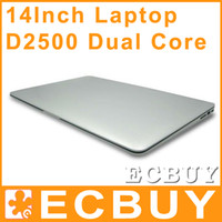 Wholesale 14 inch Notebook Intel Dual Core laptops D2500 Win Seven GB GB G G laptop