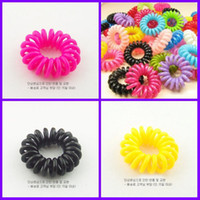 Wholesale 1000pcs High quality Cell Phone Strap Hair rope girl Hair ring Small