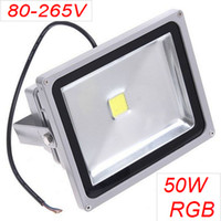 4500LM 50W high power multi led floodlight RGB 80- 265V led f...