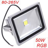 4500LM 50W high power multi led floodlight RGB 80- 265V led f...
