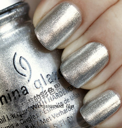 Wholesale China Glaze Slivery Bling Metal Color Nail Polish ml Quality Product Cheap Make Up Essential Item