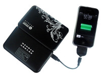 Wholesale 4200mAh SMART SOLAR CHARGER For cellphone PDA Camera Mp3 Mp4 GPS
