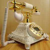 antique style telephone - New Arrival Classic Retro European Style Antique Telephone Home Decoration