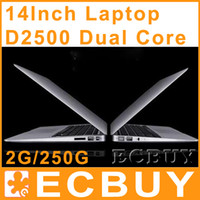 Wholesale Dual Core tablet pc Laptop Win Seven Notebook Netbook DDR3 Thin notebook