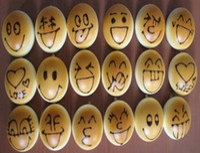 Bread Charm  FreeShip 100pcs 4CM Emotional Smiling Face Bread Squishy Charm Buns Food Charm Cell Phone Straps
