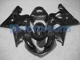 All black fairing kit FOR SUZUKI GSXR 600 750 K4 2004 2005 GSXR600 GSXR750 04 05 R600 R750