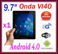 Wholesale DHL ONDA VI40 Android IPS Capacitive Screen GB GB MP Camera HDMI Tablet PC