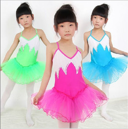 Wholesale Children s Latin Salsa Ballroom Dance Dress Girls Dancewear Colors avaliable