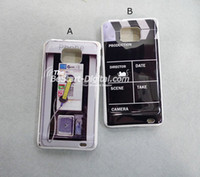 Wholesale For Samsung Galaxy S2 case Phone Booth Design Hard case for samsung i9100 Galaxy S2