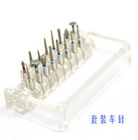 Wholesale Dental emery Dia bur burs porcelain teeth shoulder set