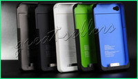 Wholesale 1900Mah Rechargeable Extended Battery Pack Case Charger For iPhone s