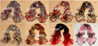 Wholesale 2012 Hot Selling Fashion colors Women s Print Headscarf Belt Long Silk Scarf indxpy