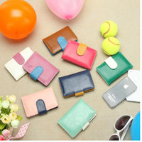 Wholesale 10PCS The latest male and female business card holder fashion business bank card card package