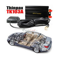 Wholesale New Car Vehicle GSM GPRS GPS Tracker system Thinpax TK103 A hot new