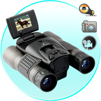 Wholesale LONG RANGER DIGITAL BINOCULARS WITH LCD FLIP SCREEN