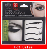 Wholesale The Latest Eye Liner Stickers Easy To The Remove Eye Shadow Sticker Eyeliner Cosmetics