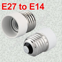 Wholesale New LED Halogen CFL Light Bulb E27 to E14 Lamp Adapter