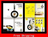 Digital novelty clocks - Hot Selling Novelty Fried Eggs Pan Shaped Wall Clocks Mute Electronic Decorative Clock For