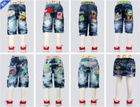 0-12years baby monkey pants - 2012 New Summer Boys Kids Jeans Children Pants Child trousers Kid Wears baby pants Lovely monkey