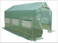Wholesale Large Mid Walk in Greenhouse x7x7 Apex Roof to US