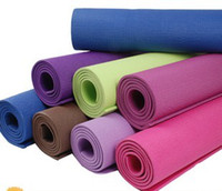 Wholesale 8mm Thick quot x quot Yoga Pilates Mat Pad Non Slip Sport Exercise Fitness