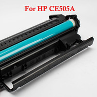 Wholesale Premium Compatible Toner Cartridge For HP CE505A Black New Plastic Shell