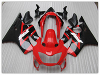 ABS aftermarket fairing kit - Customize free aftermarket FAIRING KIT for Honda CBR600 F4 CBR600 F4 RED Black motocycle fairings parts bodywork windscreen